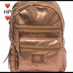 Frye Ivy Metallic Nylon Backpack